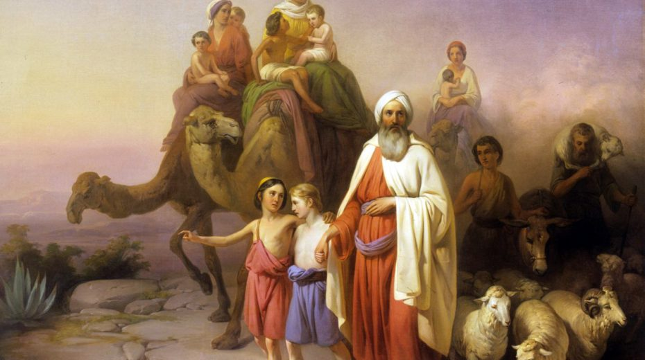 Who could Father Abraham look up to?