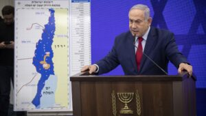 Netanyahu presents Jordan Valley Annexation plan.