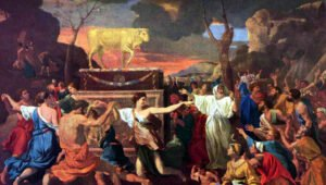 Why was a bronze snake approved, but the golden calf condemned as an idol?