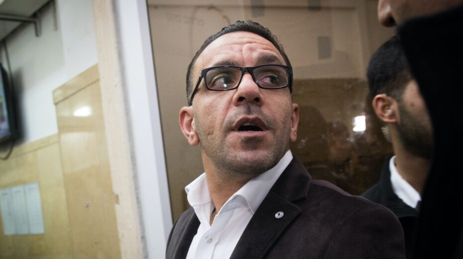 Adnan Gheith Palestinian governor of Jerusalem arrested by Israel.