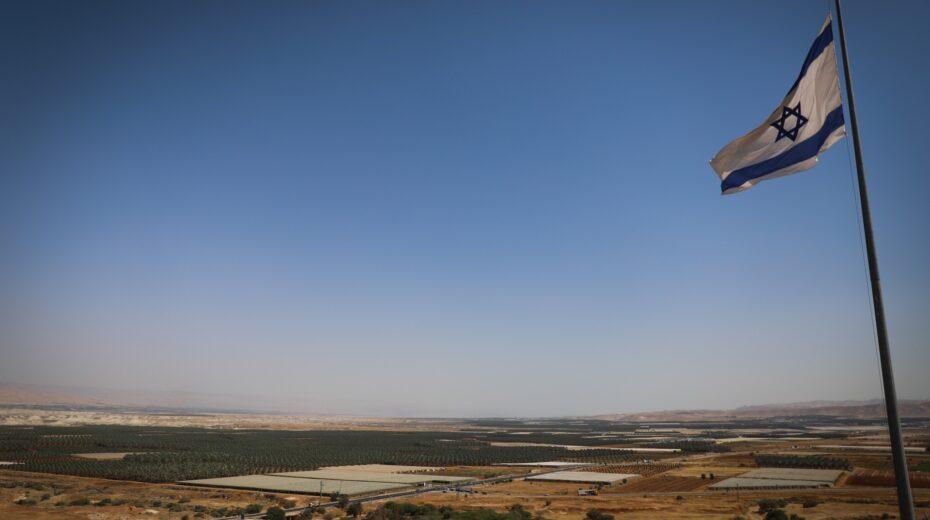 Israeli annexation of the Jordan Valley is stalled.