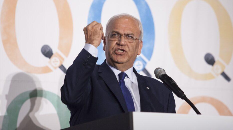 Saeb Erekat decries rise of Arab Zionists.