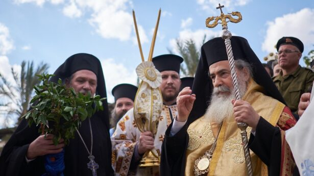 Jerusalem Church leaders again get dramatic over a land sale.