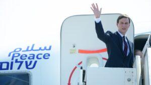 Israel El Al flight lands in Abu Dhabi as explosions rock UAE.