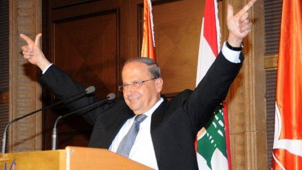 Lebanese Christian President Michel Aoun