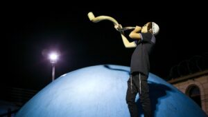 Rosh Hashanah and the sound of the Shofar.