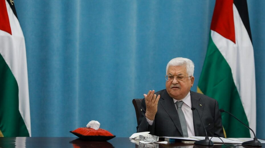 Palestinians say for peace to come, Abbas must go.
