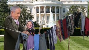 Netanyahu and his dirty laundry.
