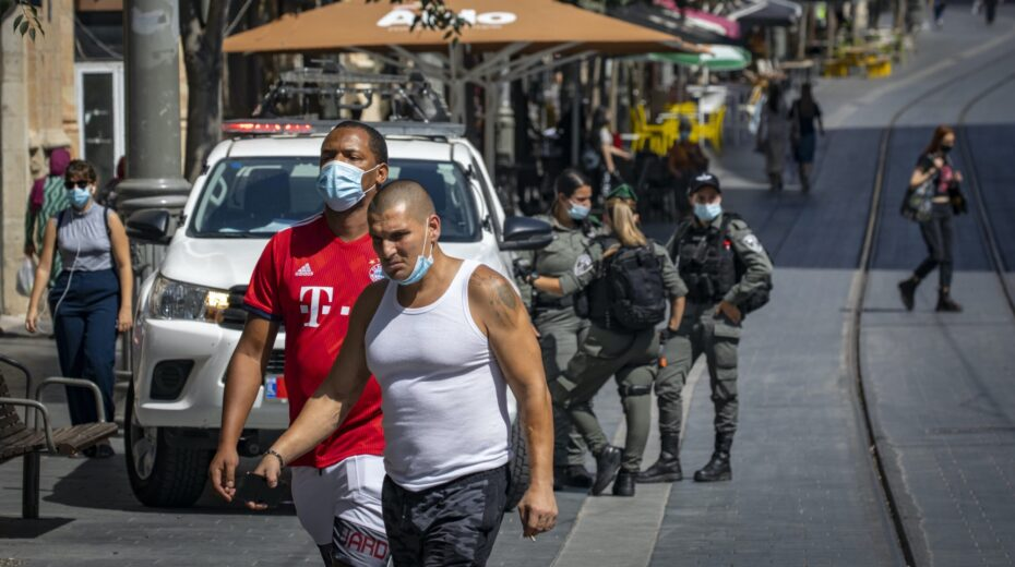 Israel's second lockdown goes into effect.