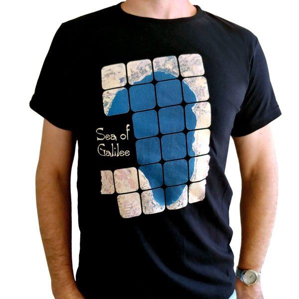 "T-Shirt Luftbildaufnahme ""See Genezareth"""