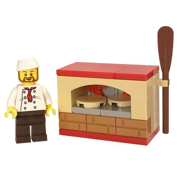 Matzah baker figure