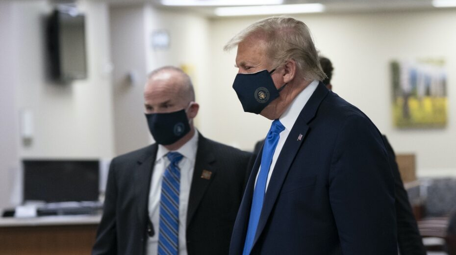 Trump taken to Walter Reed Hospital after contracting COVID-19.
