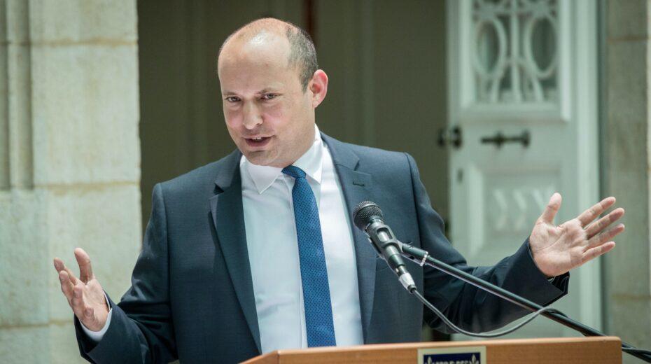 Naftali Bennett takes on Benjamin Netanyahu
