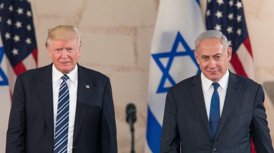 Trump and Netanyahu in happier days.