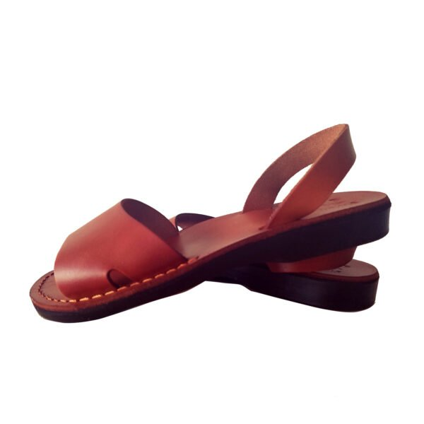 "Leather sandals like ""Baruch"""