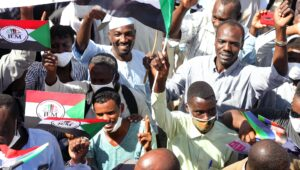 Demonstration in Sudan