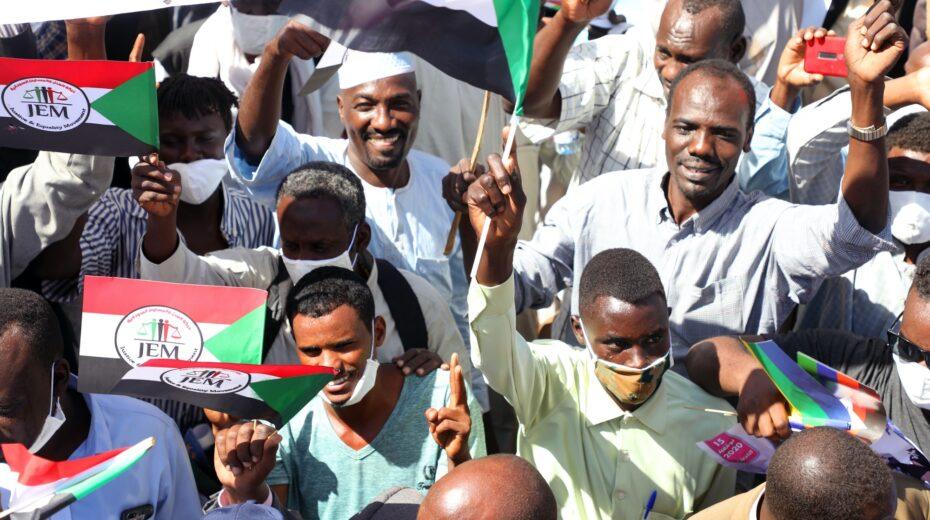 Demonstration in Sudan