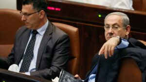 Likud rivals Benjamin Netanyahu and Gideon Sa'ar