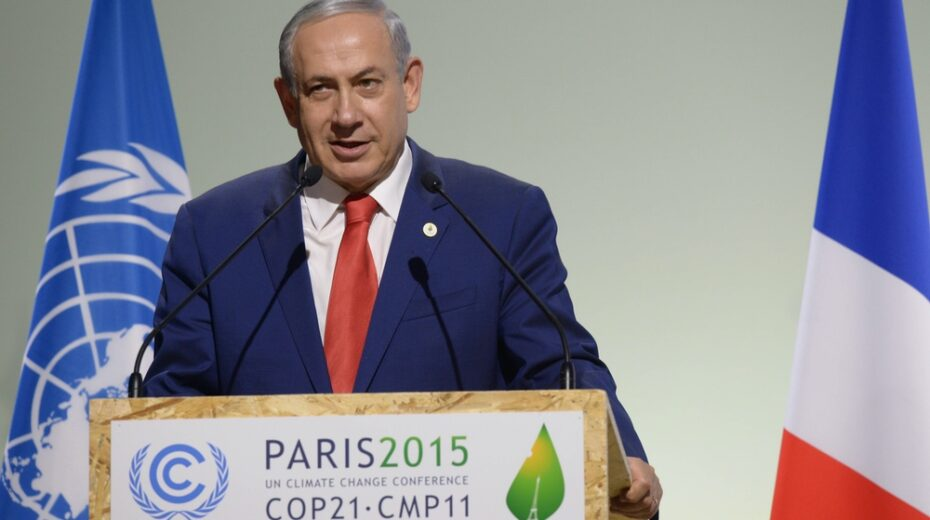 Netanyahu has committed to making Israel green by 2050