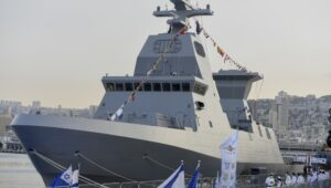 Israel Navy takes possession of advanced new warships