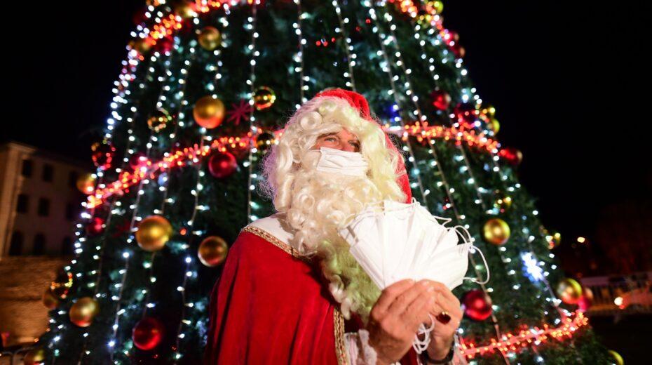Santa in Jaffa
