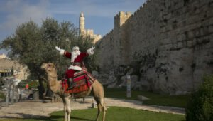 Israelis Who Celebrate Christmas
