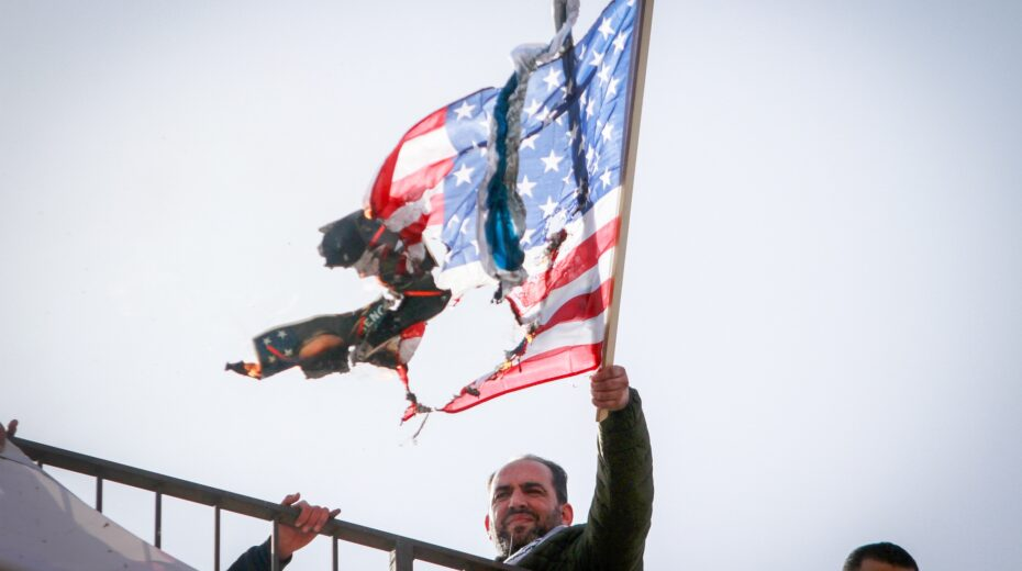 Arabs respond to US riots