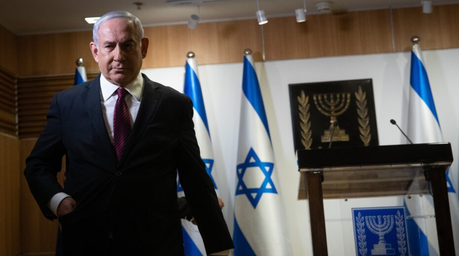 Netanyahu is facing the greatest electoral challenge of his career