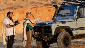 Praying for rain in the desert