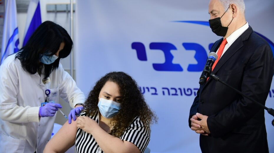 Two-millionth Israeli receives COVID vaccine