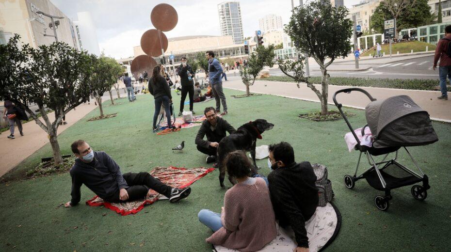 Is Tel Aviv a city under lockdown?