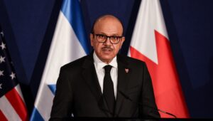 Foreign minister of Bahrain sends touching letter to Israel commemorating Holocaust victims