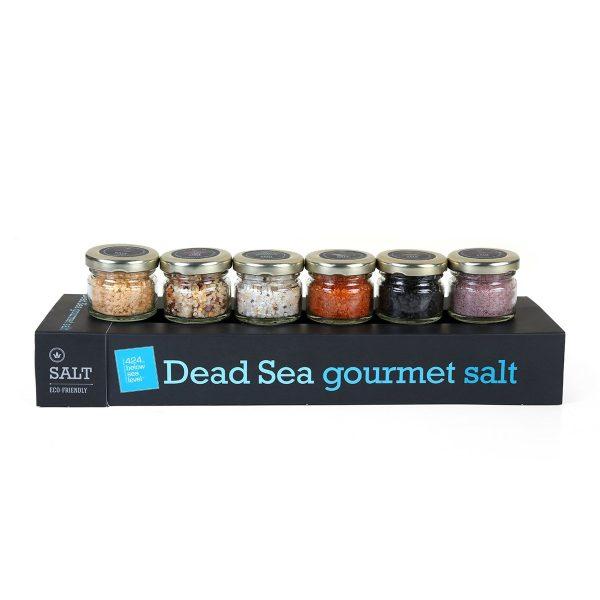 Dead Sea - Set of 6 Gourmet Salts