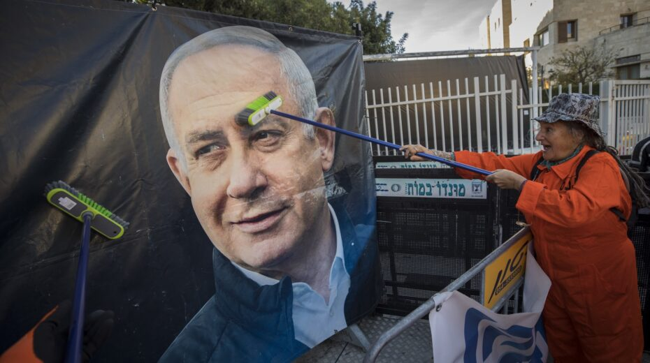 Netanyahu has been deemed by the Left to be the greatest threat to Israel.