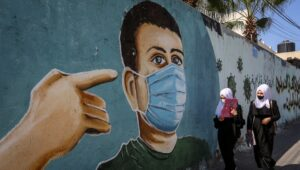 Under peace agreements, Israel is not obliged to vaccinate the Palestinians.