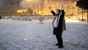 Snow in Jerusalem is always cause for celebration