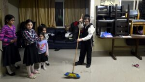 Come clean for Passover