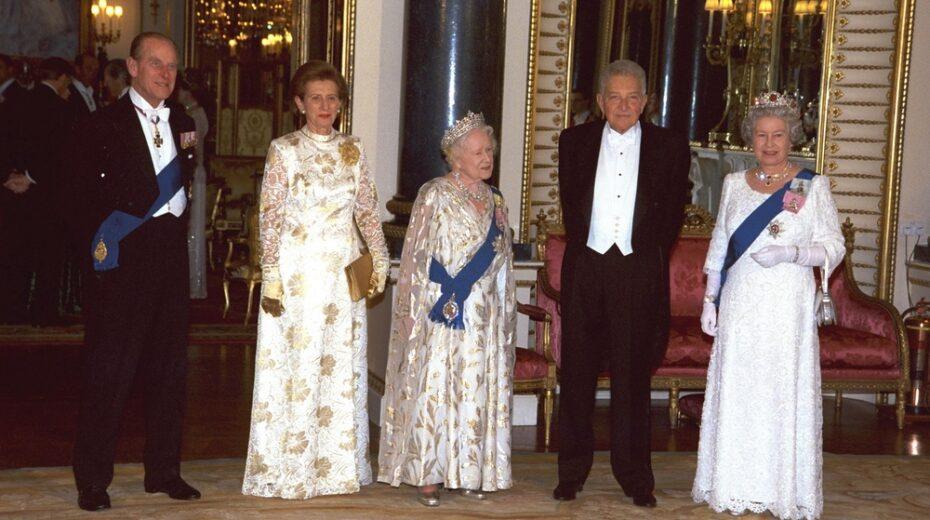 Prince Philip hosting Israel president