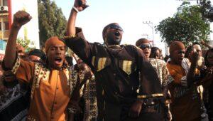 Black Hebrews in southern Israel
