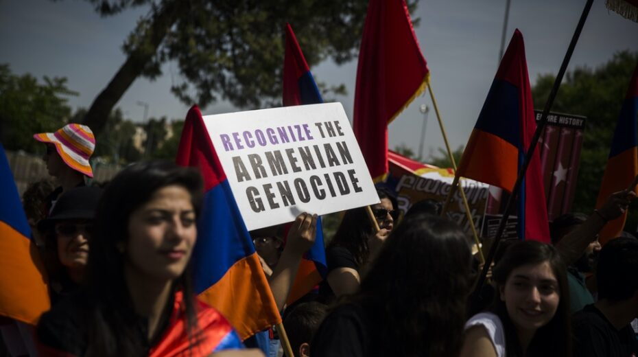 Armenians in Israel demands recognition of genocide of their people