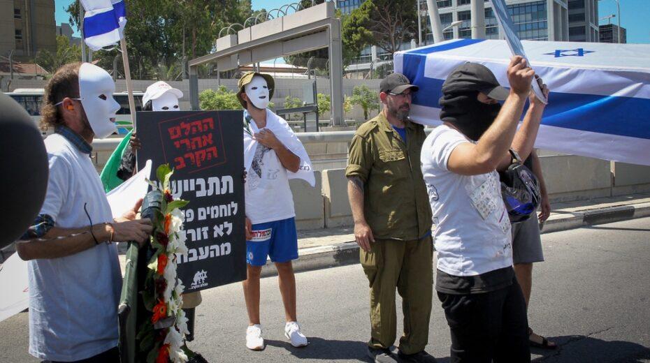 Israelis demand better treatment for veterans suffering PTSD