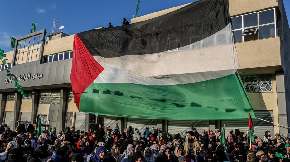 Europe is trying to help birth a Palestinian state
