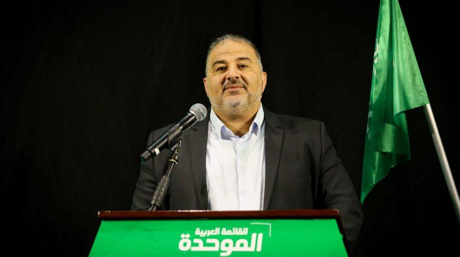 Islamic party chief Mansour Abbas