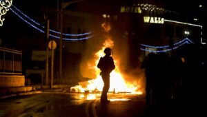Jerusalem in flames