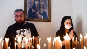 Middle East Christians pray for a better future