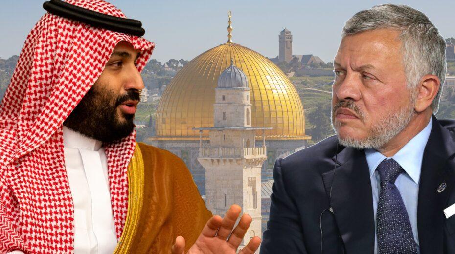 Saudi Arabia and Jordan squabble over the Temple Mount