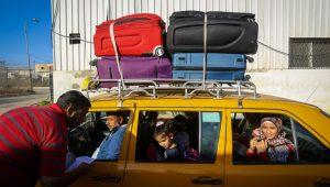 Fleeing Gaza