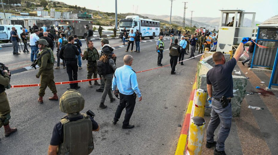 Terrorist shooting in Judea