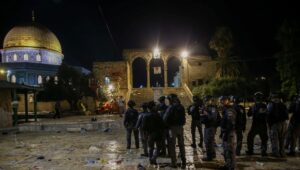 Biden criticizes Israel for putting down Temple Mount riots