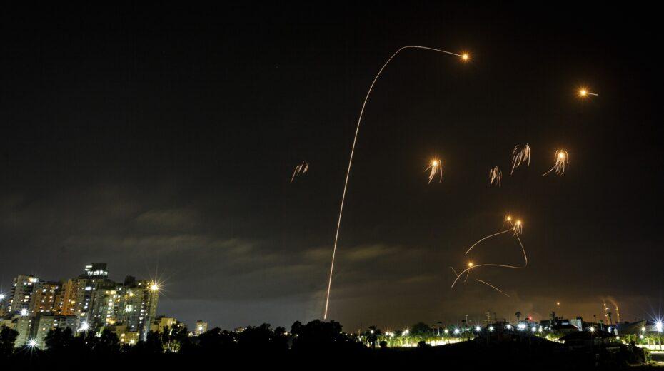 Iron Dome intercepts rockets over Ashkelon